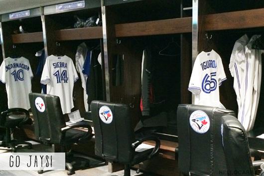 blue jays dressing room